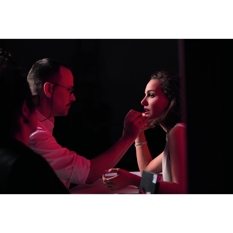 Parfums Christian Dior Une leçon de maquillage par Peter Philips, Directeur de la Création et de l'Image du maquillage Dior et un...