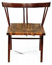 George NAKASHIMA (1905-1990) Rare large fauteuil