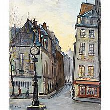 Jules René Hervé (1887-1981) Place de paris