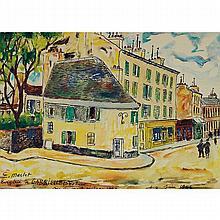 Élisée Maclet (1881-1962) La bergerie de Gabrielle Estrée, rue du Mont Cenis
