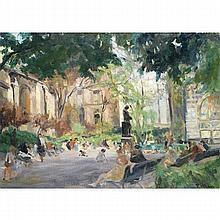 PIERRE VILLAIN (1880-1950)  LE PARC