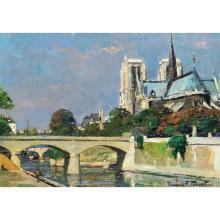 MAURICE PERROT (1892)  NOTRE DAME DE PARIS