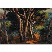 ANDRÉ HEBUTERNE (1894-1979) LES ARBRES