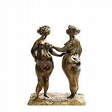 CLEMENS PASCH (1910-1985) DEUX FEMMES