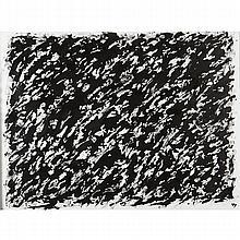 HENRI MICHAUX (1899-1984)     SANS TITRE, CIRCA 1978   Encre de Chine sur papier   Monogrammée en bas à droite   56 X 75 CM