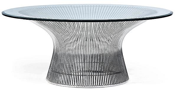 Warren PLATNER (né en 1919) & KNOLL (Éditeur) Table basse
