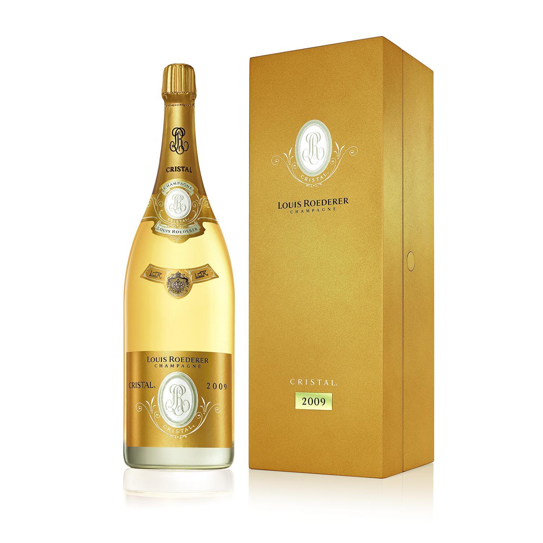 Champagne Louis Roederer 1 Jeroboam de Champagne Cristal 2009 Véritable icône de la Champagne, la cuvée Cristal de la maison Louis ...