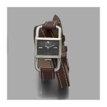 JAEGER LECOULTRE  pour HERMèS-Paris ÉTRIER. ANNÉES 60 A stainless steel manual winding lady's watch by Jaeger Lecoultre for Hermès Pari