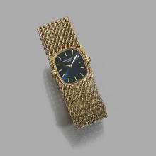 PATEK PHILIPPE ELLIPSE. RÉF. 4266/2 ANNÉES 80 A gold manual winding lady's watch by Patek Philippe, circa 1980.