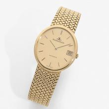 JAEGER LECOULTRE ANNÉES 60 A gold self winding wristwatch by Jaeger Lecoultre, circa 1960.