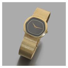 PIAGET VENDUE EN 1981. RÉF. 9597 A gold manual winding wristwatch by Piaget.