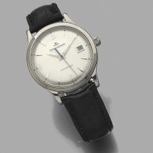 JAEGER LECOULTRE MASTER CONTROL. RéF. 140.8.89. ANNÉES 2000 A stainless steel self winding wristwatch by Jaeger Lecoultre, circa 2000.