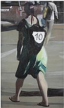 Marc Desgrandchamps (né en 1960) Sans titre, 2013 Oil on canvas, signed and dated on the reverse 215/8 x 15 in.