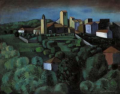 Kiyoshi Hasegawa (1891-1980) Le village,1925