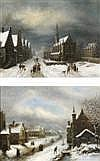- LOUIS CLAUDE MALBRANCHE (Caen 1790-1838) RUES