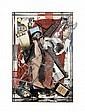 ARMAN (1928-2005)  Portrait-Robot de Paul van Hoeydonck, 1966 Objets et effets personnels dans boîte en plexiglas Dédicacé