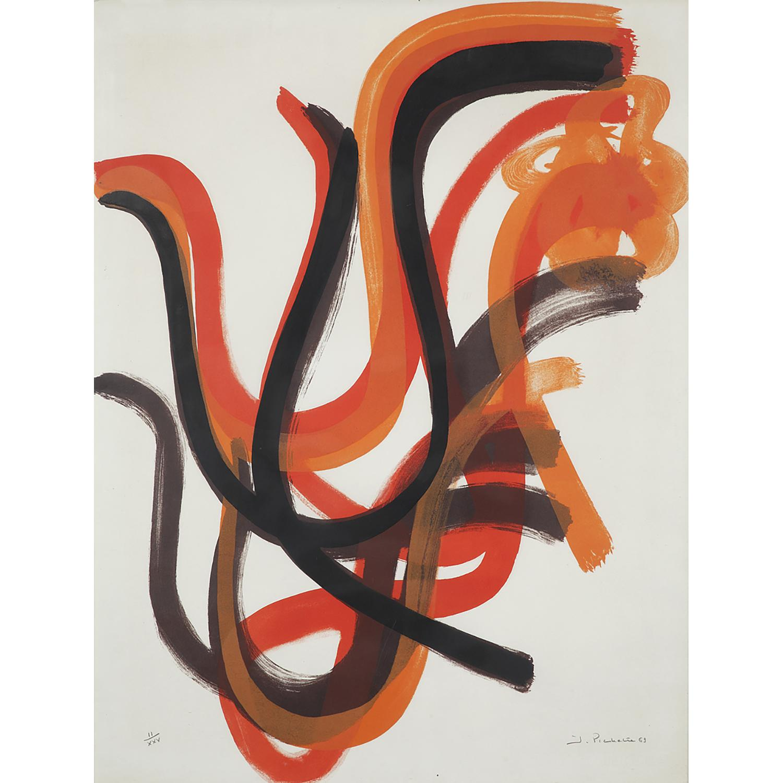 JAMES PICHETTE (1920-1996) COMPOSITION, 1969