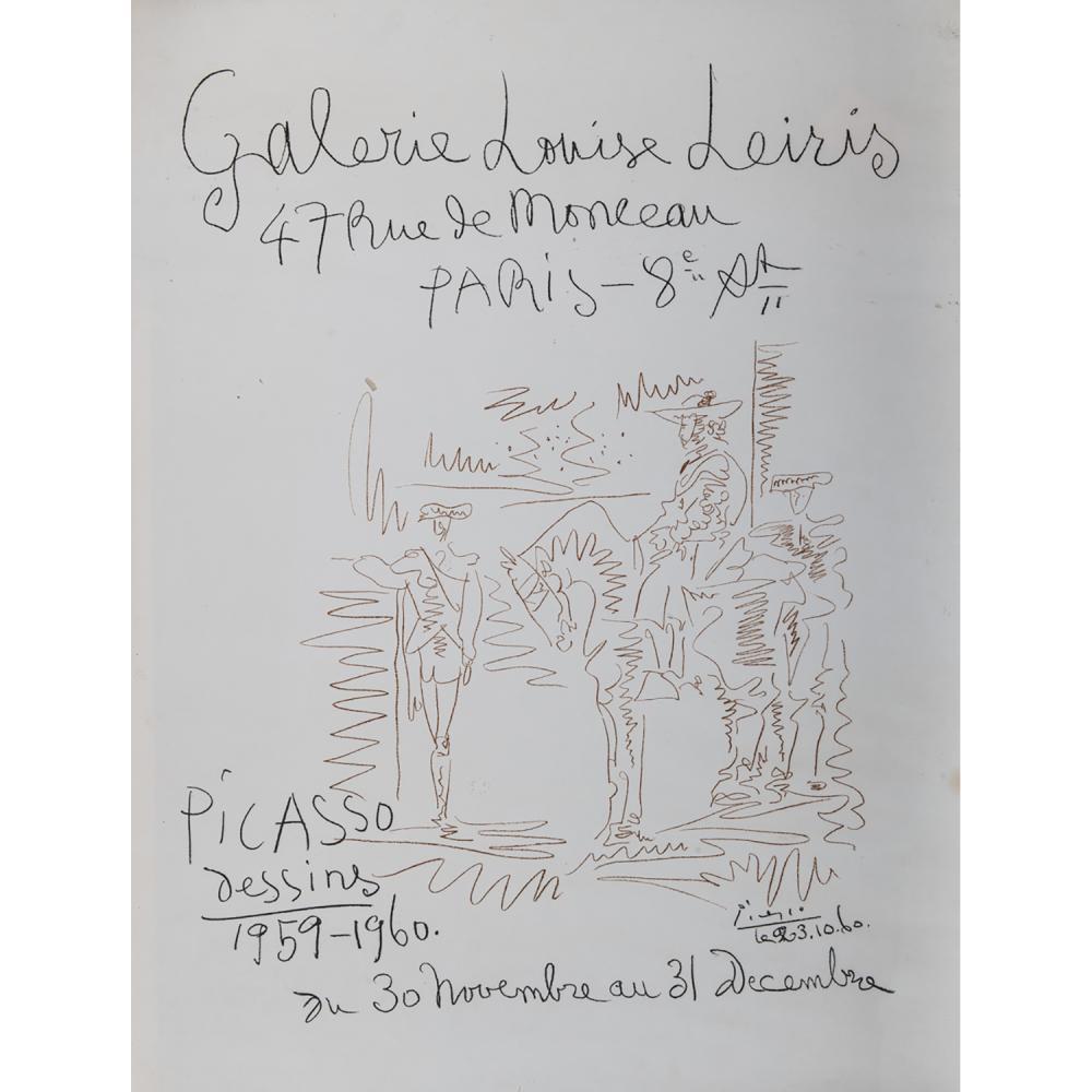 PABLO PICASSO (1881-1973) LE PICADOR