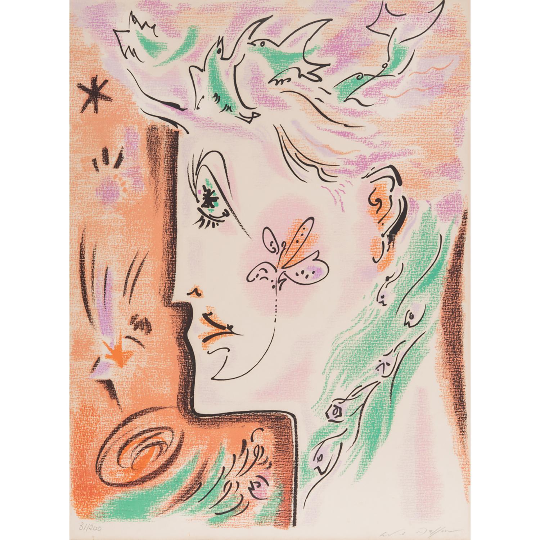 ANDRÉ MASSON (1896-1987) VISAGE SURRÉALISTE, 1940