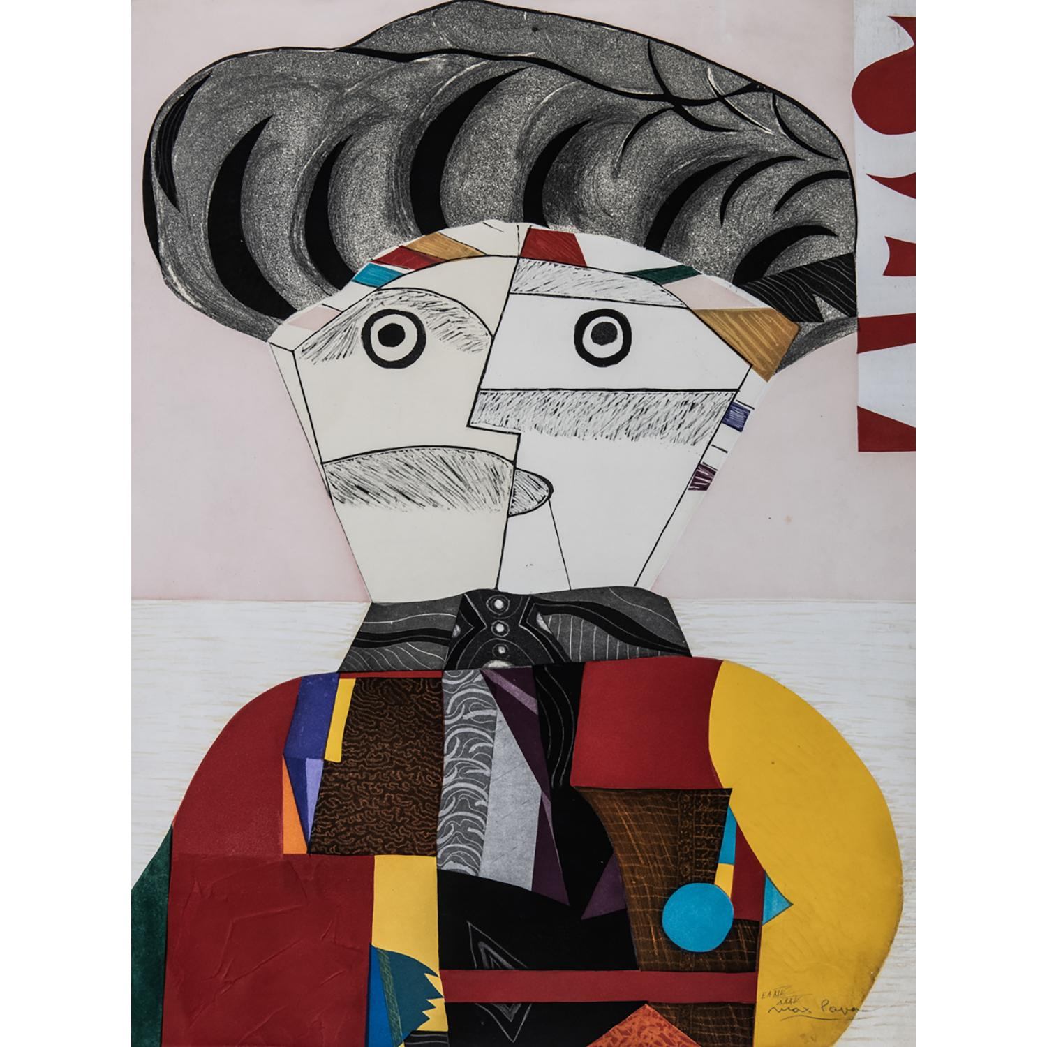 MAX PAPART (1911-1994) PERSONNAGE