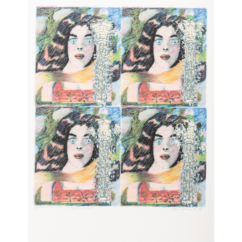 RENE BERTHOLO (1935-2005) QUADRIOTYQUE, 1999