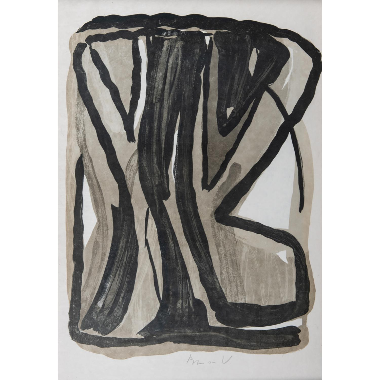 BRAM VAN VELDE (1895-1981) COMPOSITION, 1976