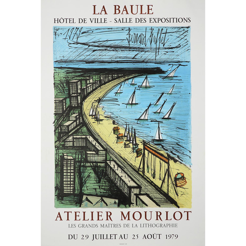 [AFFICHE]. - BERNARD BUFFET (1928-1999) LA BAULE,1979