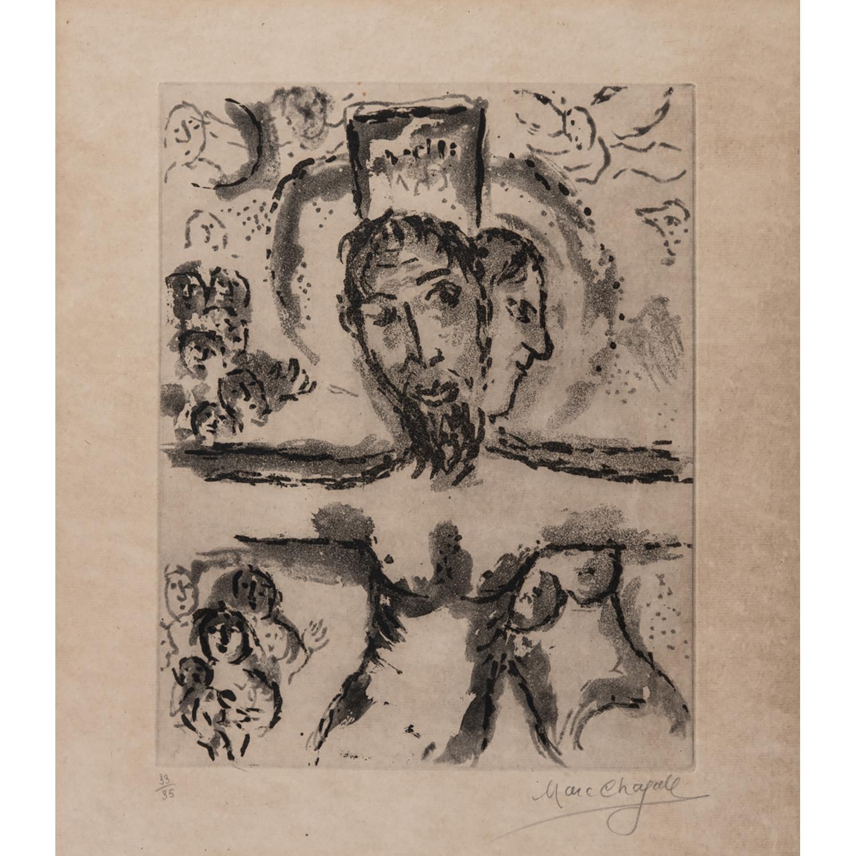 MARC CHAGALL (1887-1985) LA CRUCIFIXION, 1967