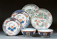 A pair of Imari dishes, China, late 18th centuryD.12 1/4 in.