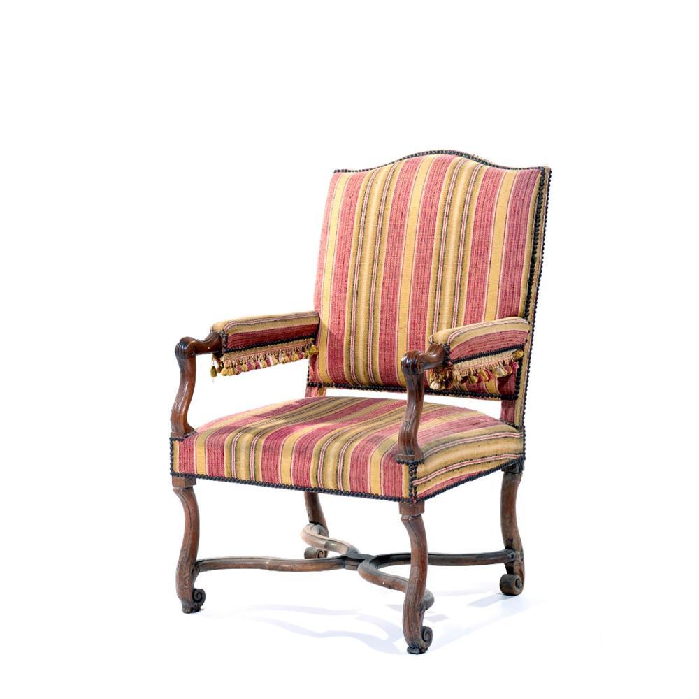 Fauteuille Europeen : Large fauteuil Époque louis xiv