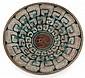 Maurice GENSOLI (1892-1972) & SÈVRES (Manufacture Nationale de) Coupe circulaire creuse en faïence sur talon, 1927, à décor de frise...