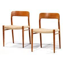 NIELS Ö MÖLLER (1920-1982)Suite de quatre chaises modèle