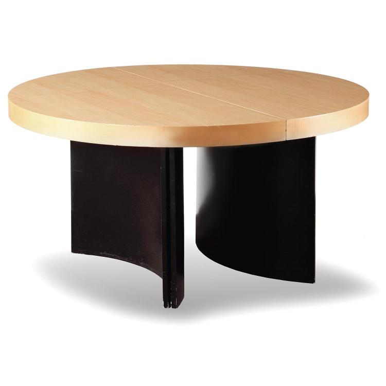 michel boyer 1935 2011 table de milieu circulaire pi teme. Black Bedroom Furniture Sets. Home Design Ideas