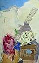 ƒ PAUL REBEYROLLE 1926-2005 Nature morte, 1965 Huile sur toile signée et datée en bas à droite 146 x 89 cm, Paul Rebeyrolle, Click for value