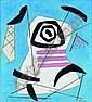ƒ GEORGE L.K. MORRIS 1905-1975 Composition, 1947 Huile sur panneau signé en bas à droite, contresigné, daté et titré au dos 31 x 28 cm, George Lovett Kingsland Morris, Click for value