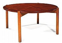 View hans j wegner art prices and auction results - Pietement table basse ...