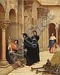 Philip Hermogenes CALDERON(Poitiers 1833 – Londres 1898) L'amateur d'art Toile 145 x 14 cm Signée et datée en bas à droite : PCALDER..., Felipe Hermógenes Calderón, Click for value
