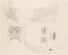 Kiki Smith (née en 1954) Ginzer and the birds, 1996