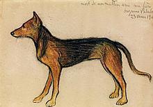 Suzanne Valadon (1865-1938) Le chien
