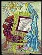 ƒ PERKINS HARNLY (NÉ EN 1901) Projet de couverture du catalogue de lexposition Objects by Joseph Cornell, Posters by Toulouse-Lautrec,