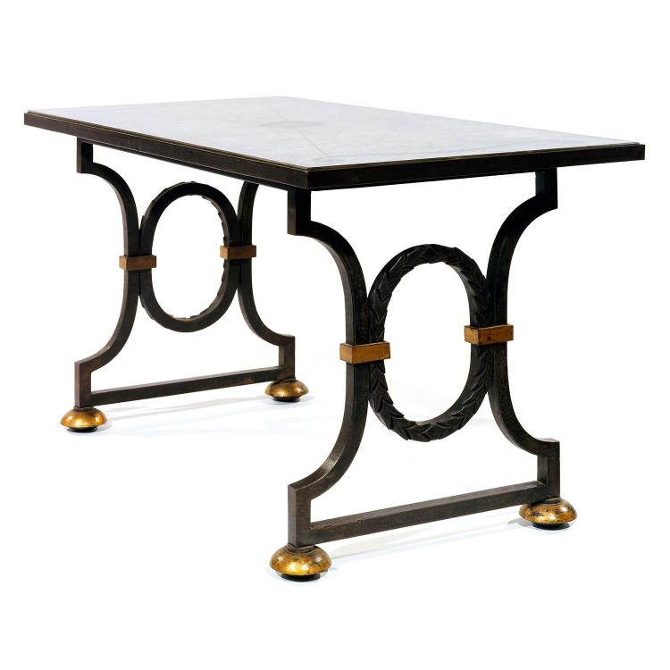 Gilbert poillerat 1902 1988 max ingrand 1908 1969 table for Pietement de table