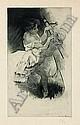 LOUIS LEGRAND Les Petites du ballet. Suite de treize eaux-fortes, chez G. Pellet. 1893. (Fonds Français 43) 360 x 220. Très belles épre, Louis Legrand, Click for value