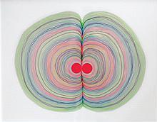 Lionel ESTEVE Trust me, 2014 Technique mixte Dimensions avec son cadre: 42 x 52 cm
