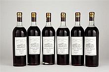 6 bouteilles CH. RABAUD, Sauternes 1929