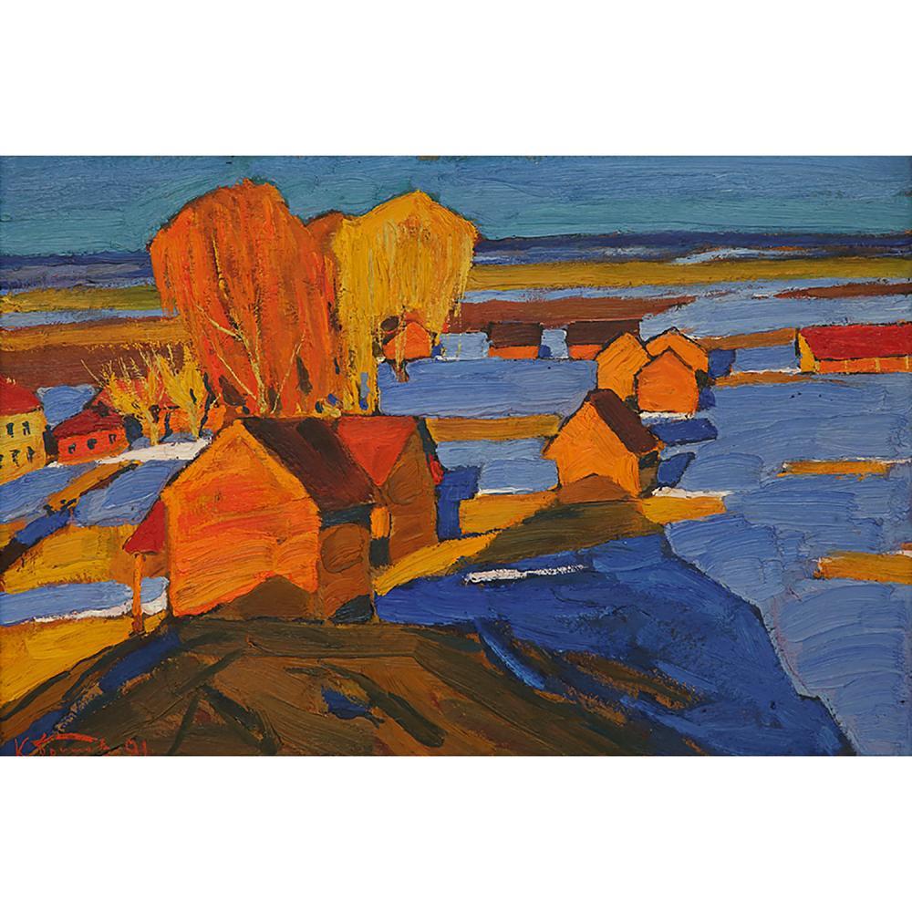 KIM NIKOLAEVICH BRITOV (1925-2010) UNE SOIRÉE DE MARS, 1991