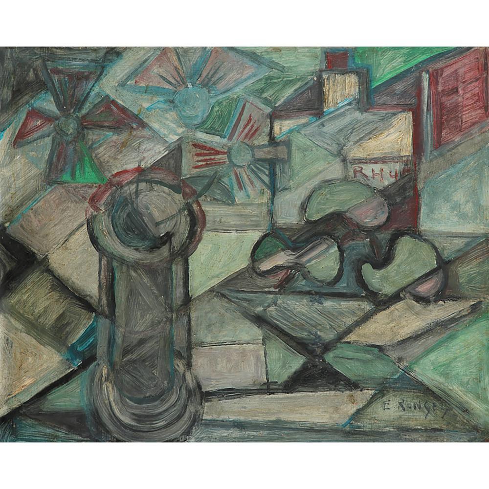 ÉLISABETH RONGET (1893-1972) NATURE MORTE AU BOUQUET DE FLEURS