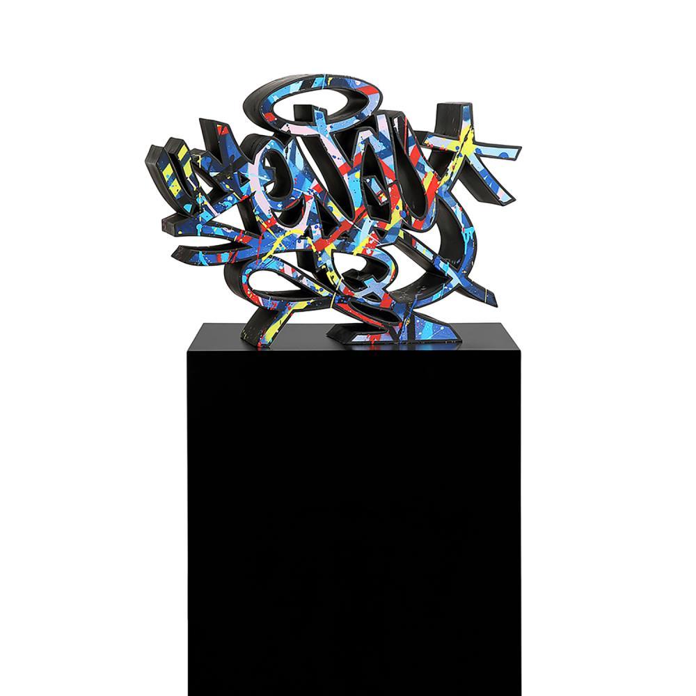 ZENOY (né en 1974) EXTRUSION(S), 2015 Acrylique sur résine polymère Signée et annotée 'U' sous la base D'une édition à 26 e...