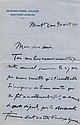 Georges CLÉMENCEAU. 1841-1929. Homme politique. 2 L.A.S. à Louis Barthou. Mont-Dore, 30août 1909, & Carlsbad, 18juillet 1911. 3 pp...