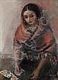 Raymond KANELBA (1897 - 1960) La tireuse de carte, Rajmund Kanelba, Click for value