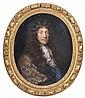 Pierre MIGNARD  (Troyes 1612 – Paris 1695) Portrait dit du marquis de Pomponne Toile ovale 73 x 59,5 cm  Restaurations  Dans son cad...
